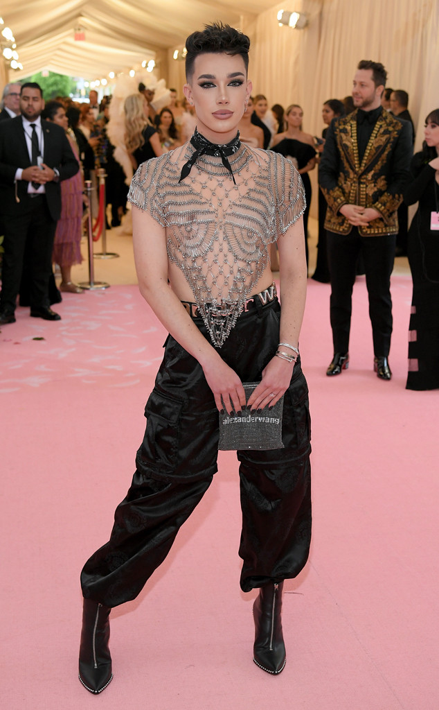 James Charles, 2019 Met Gala, Red Carpet Fashions