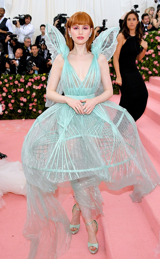 Madelaine Petsch, 2019 Met Gala, Red Carpet Fashions