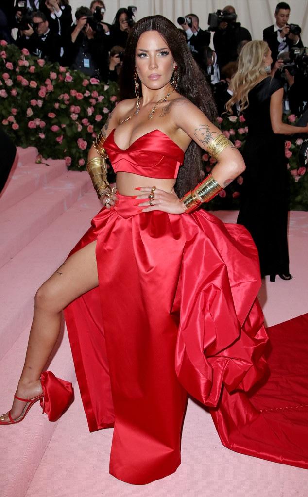 Halsey, 2019 Met Gala, Red Carpet Fashions