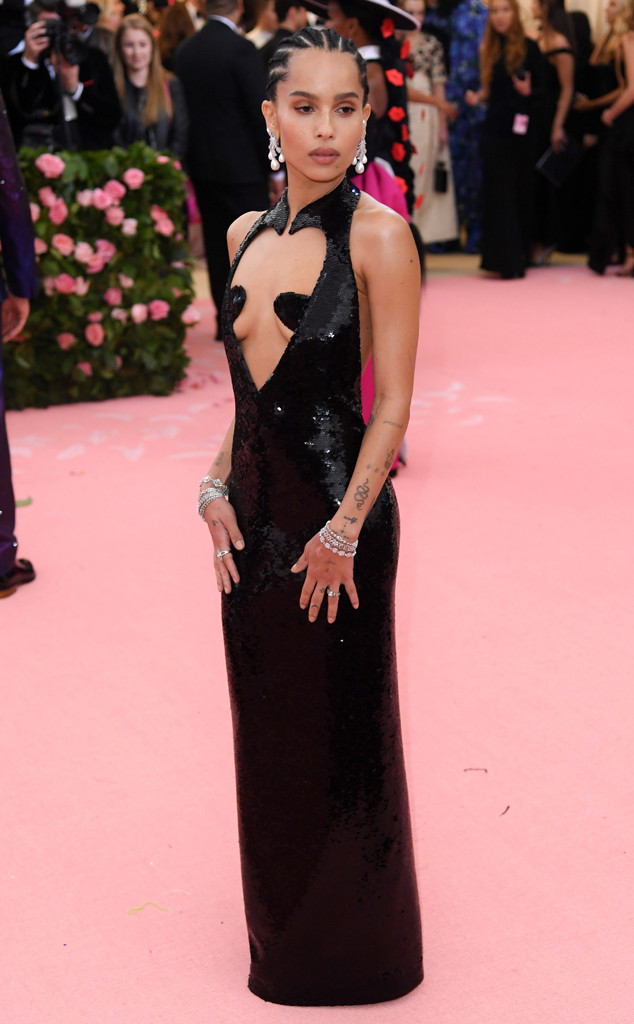 Zoe Kravitz, 2019 Met Gala, Red Carpet Fashions