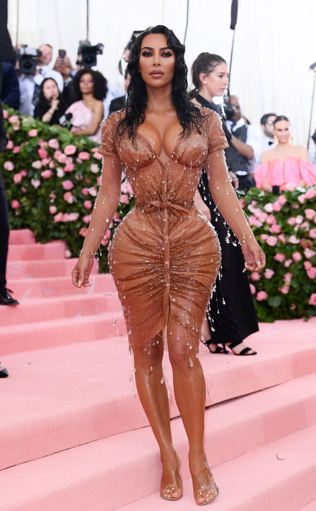 Kim Kardashian West, 2019 Met Gala, Red Carpet Fashions, Kardashian Met Gala Widget