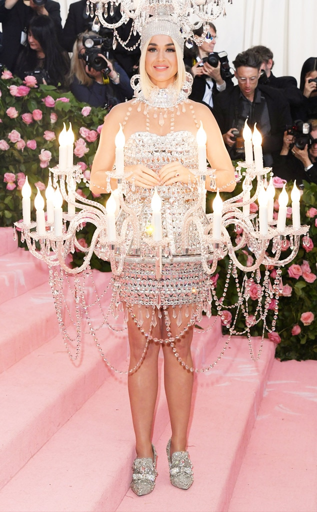 Katy Perry, 2019 Met Gala, Red Carpet Fashions