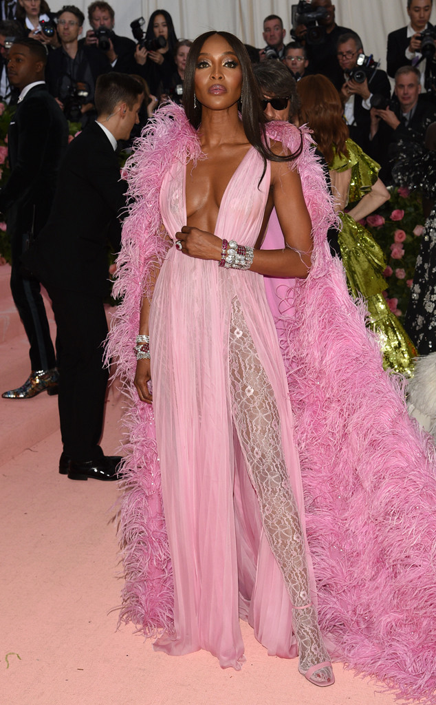 Naomi Campbell, 2019 Met Gala, Red Carpet Fashions