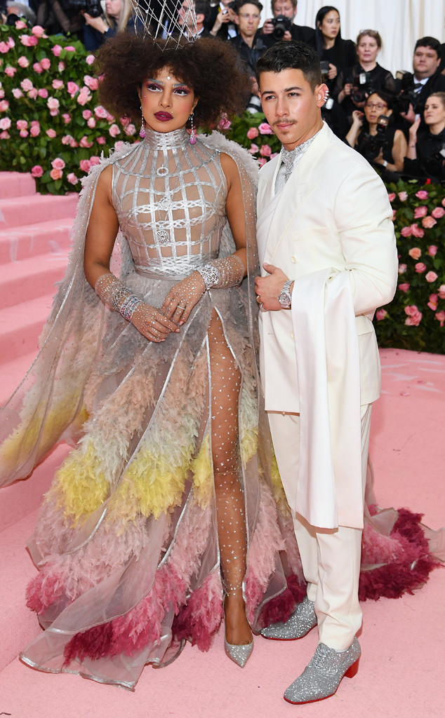 Priyanka Chopra, Nick Jonas, 2019 Met Gala, Couples