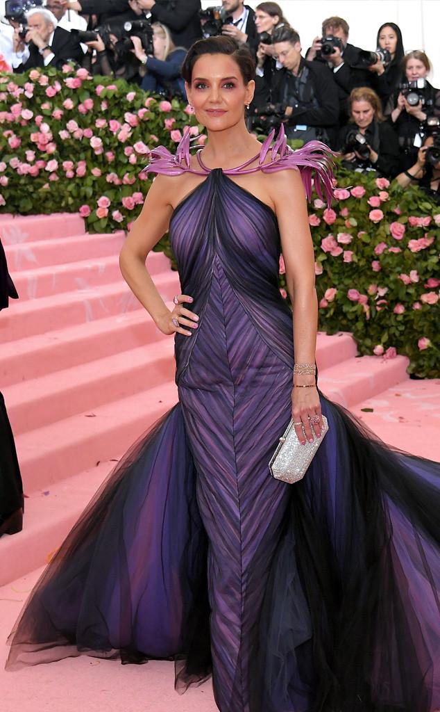 Katie Holmes, 2019 Met Gala, Red Carpet Fashions