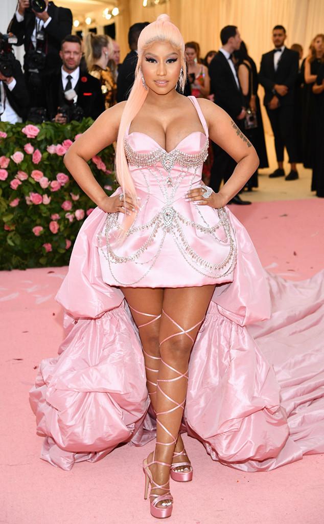 Nicki Minaj, 2019 Met Gala, Red Carpet Fashions