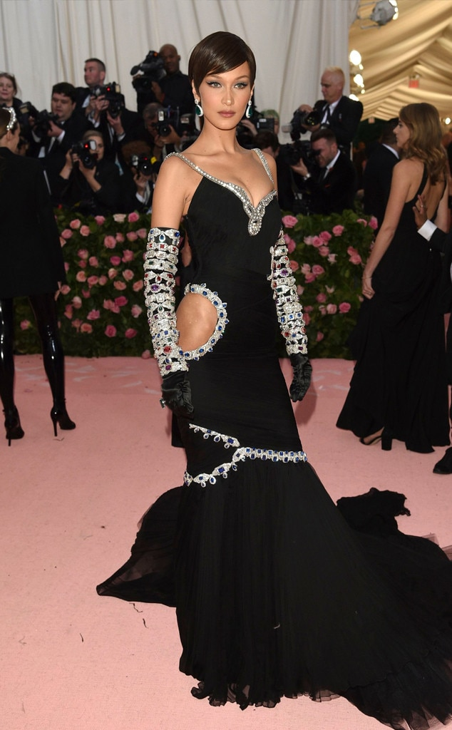 Bella Hadid From 2019 Met Gala Best Dressed Stars E News