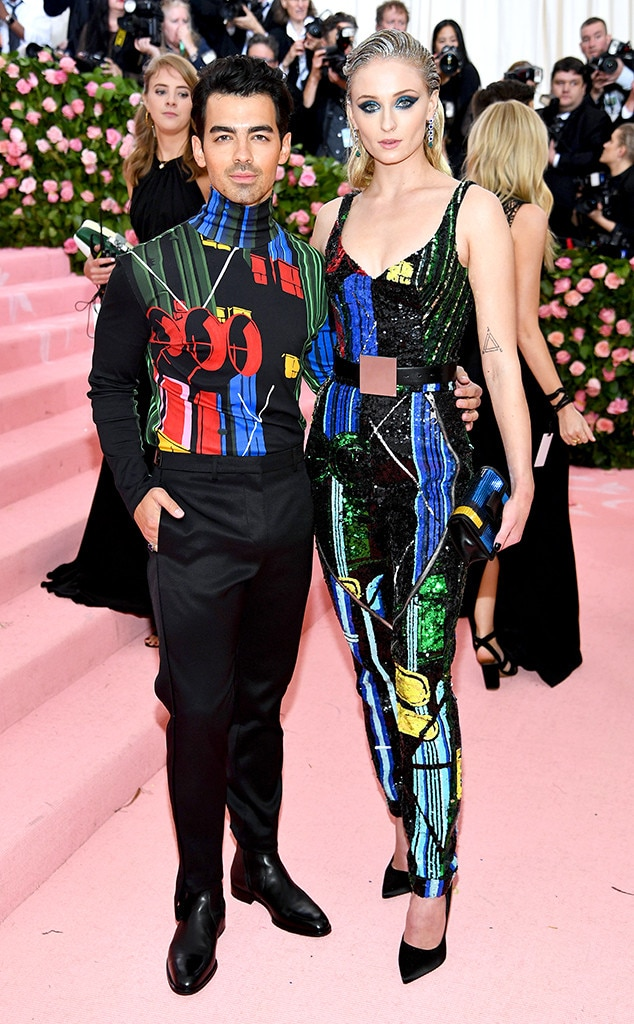 "Joe Jonas & Sophie Turner -  The ""Cool"" singer transforms the Met Gala into a date night with his new bride."