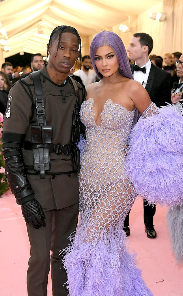 "Travis Scott & Kylie Jenner -  The ""Sicko Mode"" rapper escorts the lip kit mogul to the Met Gala for a second year in a row."