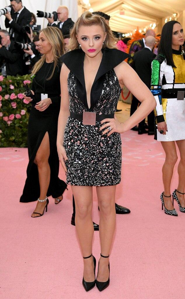 Chloe Grace Moretz from 2019 Met Gala Red Carpet Fashion ...