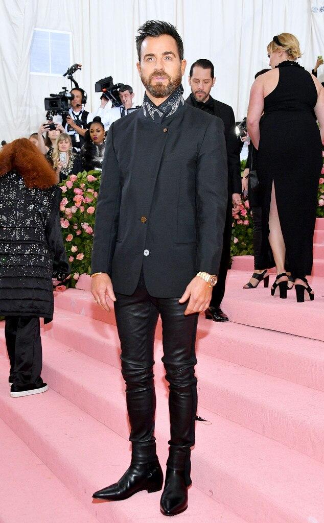 Justin Theroux, 2019 Met Gala, Red Carpet Fashions