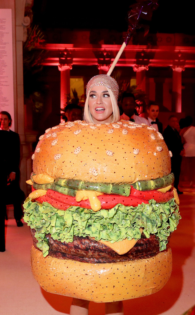 Katy Perry, 2019 Met Gala, Inside