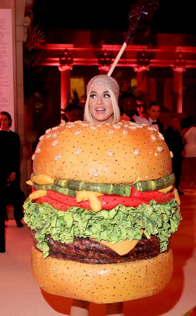 Katy Perry's Second 2019 Met Gala Look Is a... Hamburger