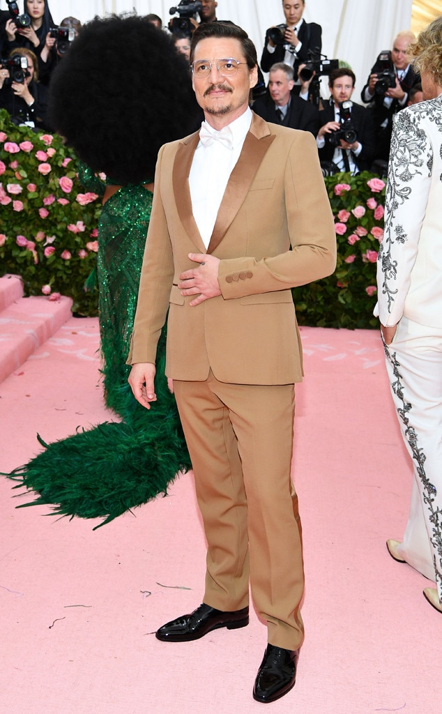 Pedro Pascal, 2019 Met Gala, Red Carpet Fashions