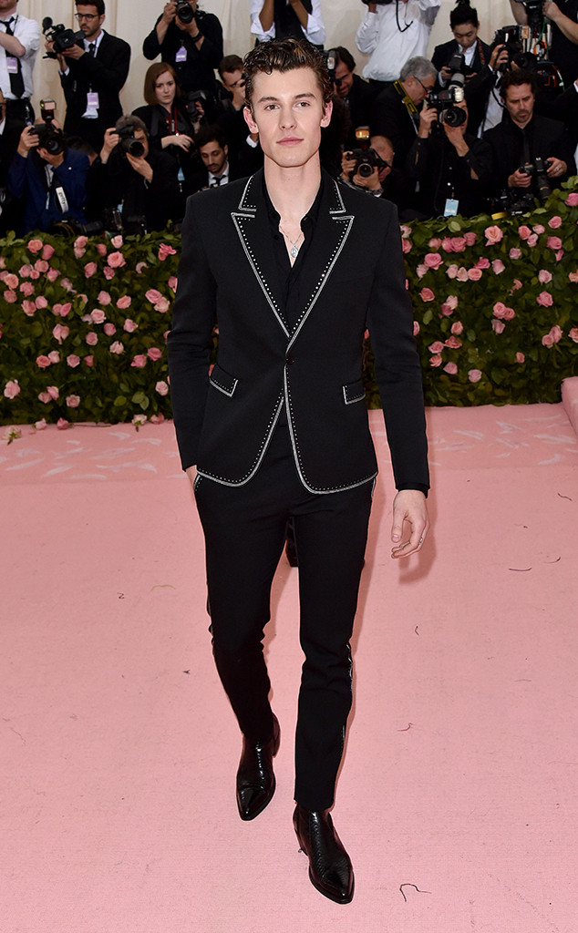 Shawn Mendes, 2019 Met Gala, Red Carpet Fashions