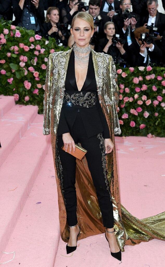 Poppy Delevingne, 2019 Met Gala, Red Carpet Fashions