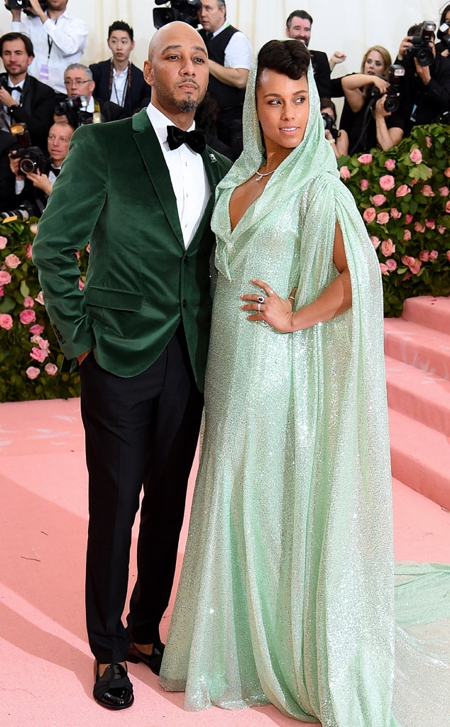 Swizz Beatz & Alicia Keys -  A springtime look!