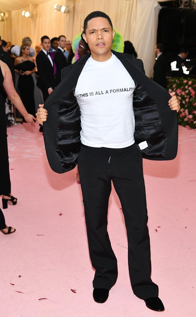 Trevor Noah, 2019 Met Gala, Red Carpet Fashions