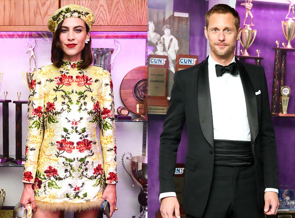 Alexa Chung, Alexander Skarsgard, Celeb exes reunite at the Met Gala, 2019 Met Gala