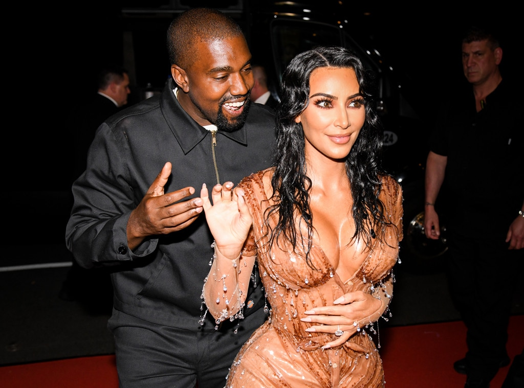 Kim Kardashian, Kanye West, 2019 MET Gala, After Party
