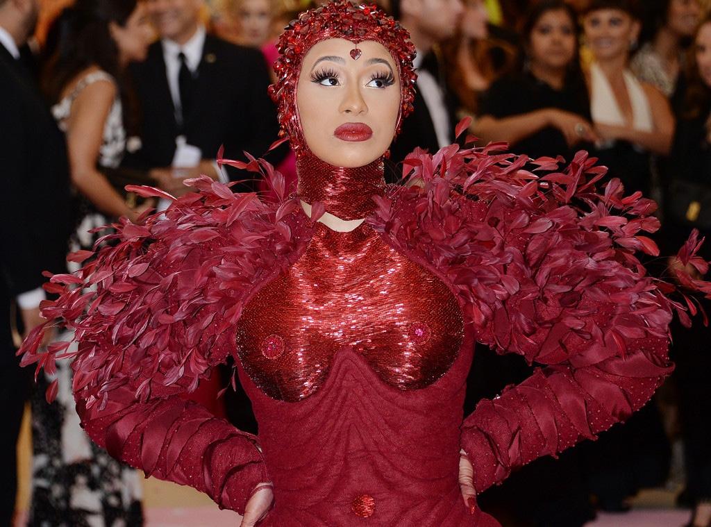 Cardi B, 2019 Met Gala, Nipple Covers