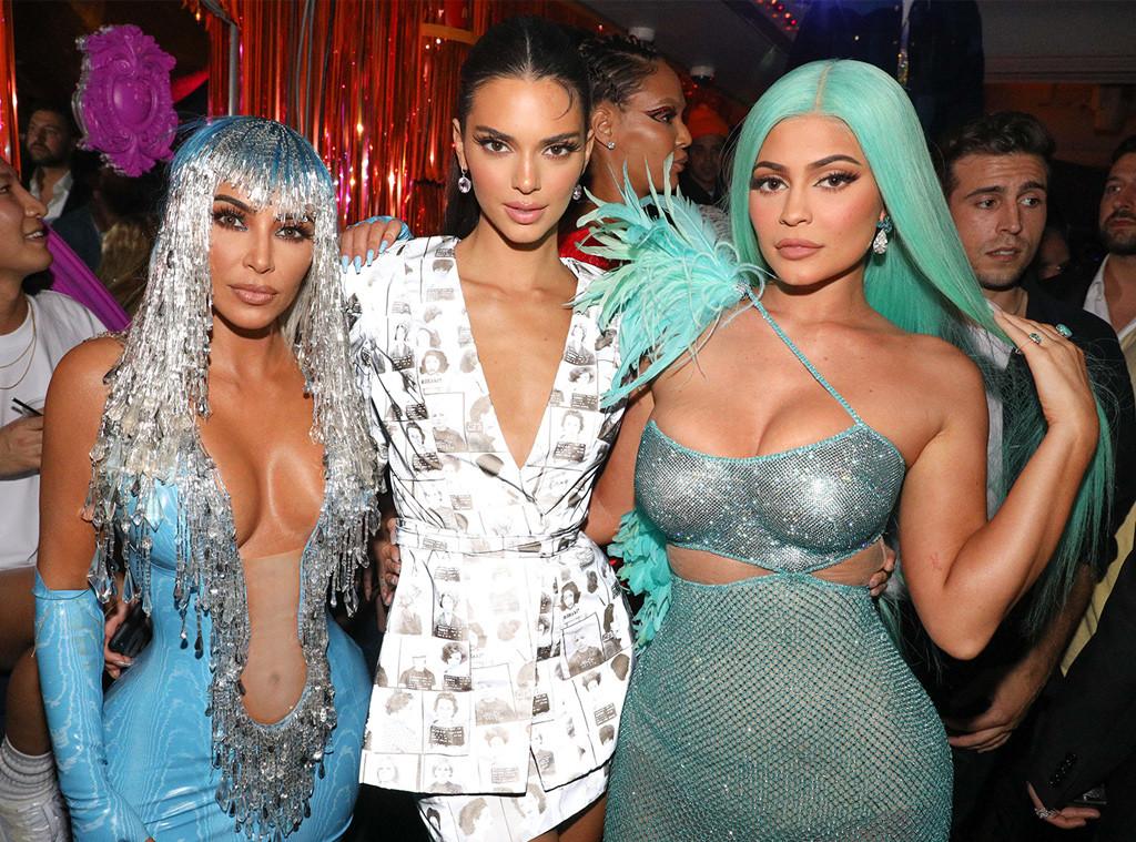 KIm Kardashian, Kylie Jenner & Kendall Jenner