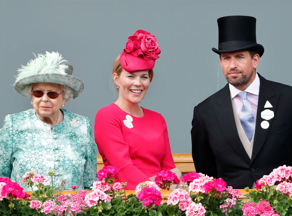 Queen Elizabeth II, Autumn Phillips, Peter Phillips