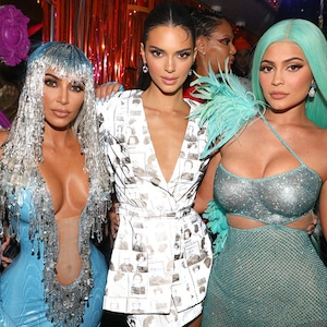 KIm Kardashian, Kylie Jenner, Kendall Jenner, 2019 Met Gala, After Party