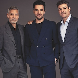 George Clooney, Christopher Abbott, Kyle Chandler, Emmy magazine