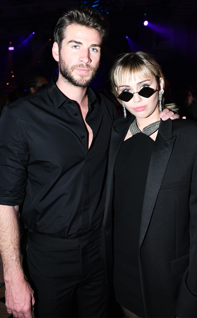 Liam Hemsworth, Miley Cyrus, 2019 MET Gala, After Party