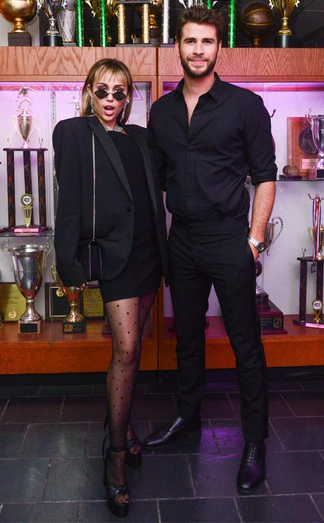 Miley Cyrus, Liam Hemsworth, 2019 MET Gala, After Party