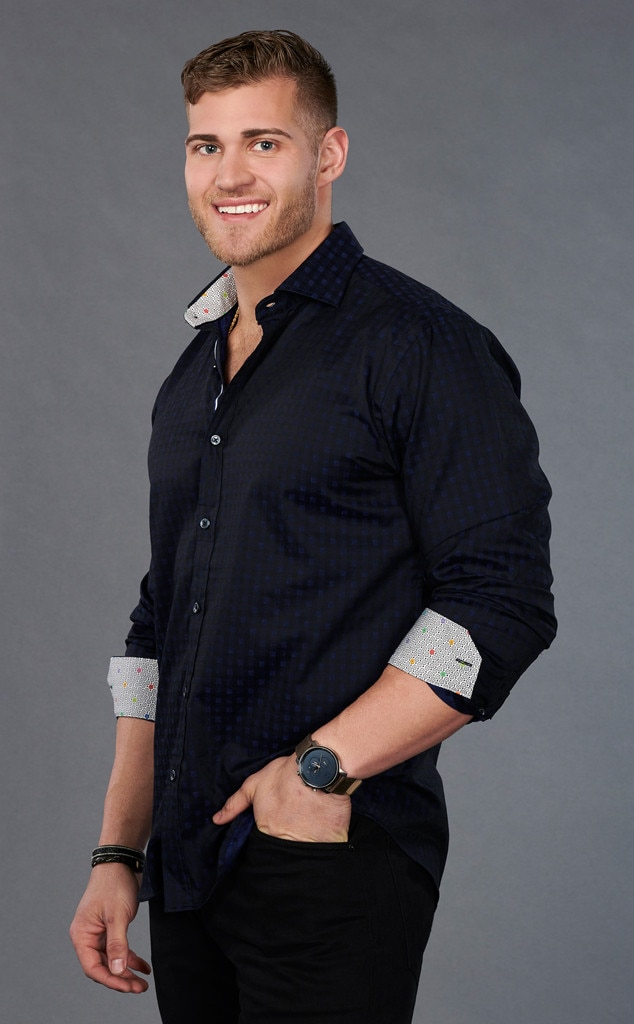 """Luke P. -  On ATFR, Luke said he really wanted Hannah to be  The Bachelorette …and got his wish. His Instagram appears to be private now, but his bio says, """"Jesus + Nothing = Everything"""" and """"Philippians 4:13"""" with a flexing emoji, face with sunglasses on emoji and thumbs up emoji."""