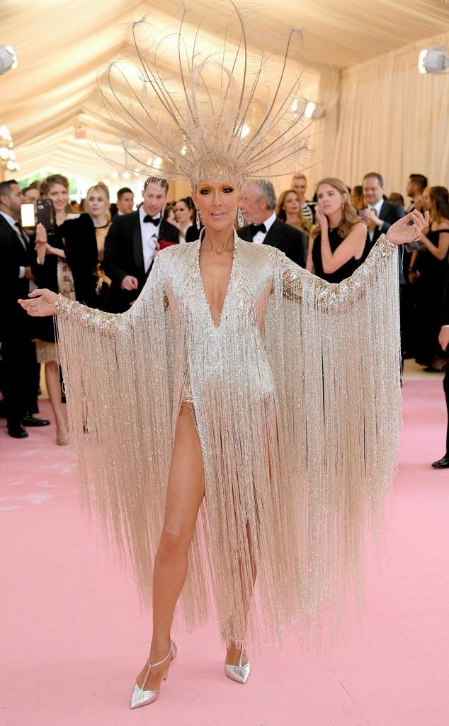 Celine Dion, 2019 Met Gala, Red Carpet Fashions