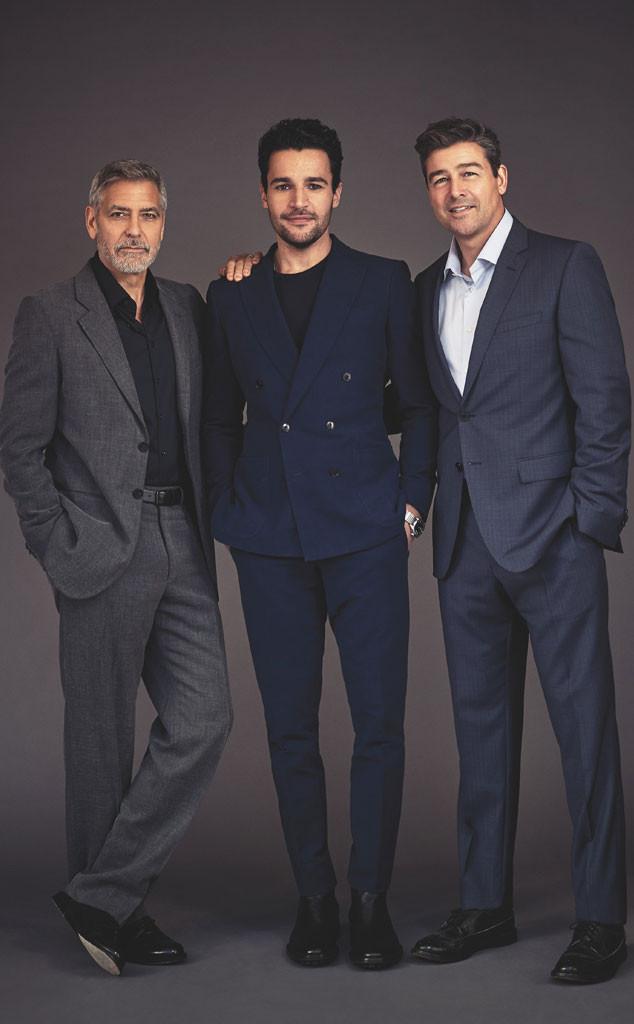 George Clooney, Christopher Abbott, Kyle Chandler, Emmy magazine