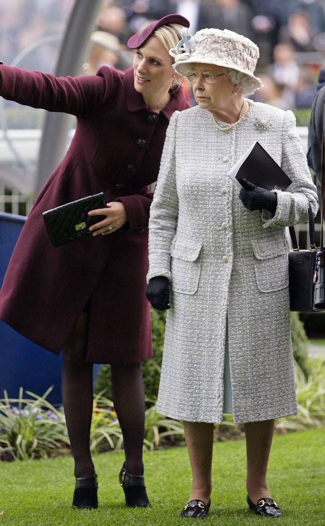 Zara Phillips, Queen Elizabeth II