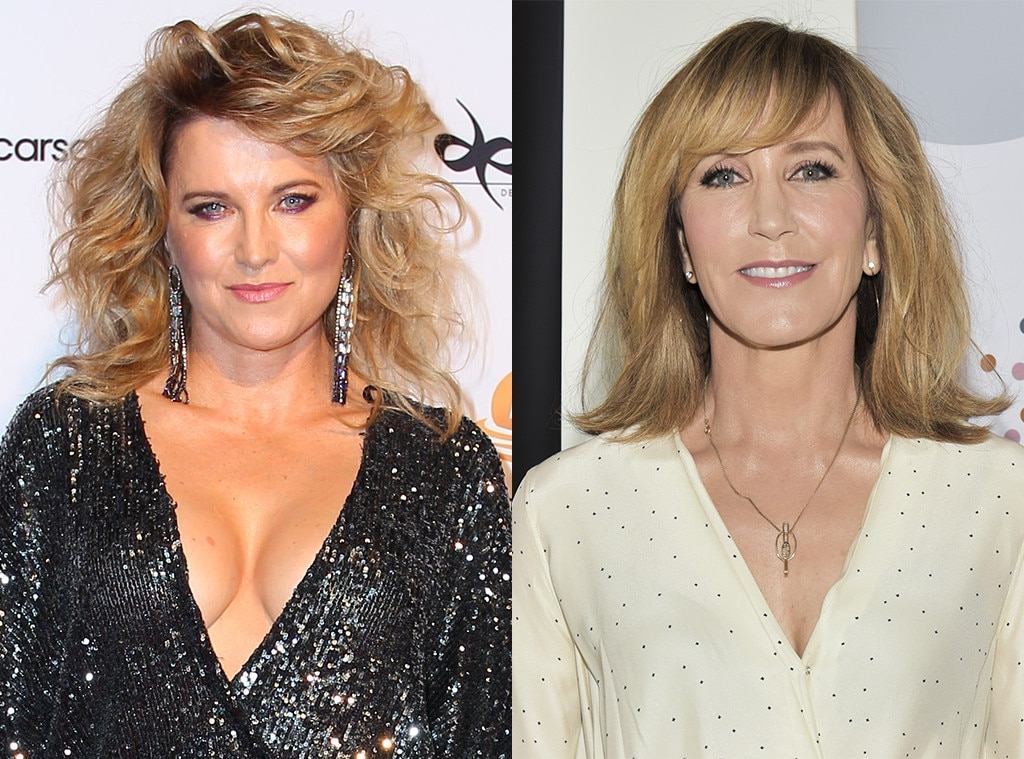 Lucy Lawless as Felicity Huffman -  The  Xena: Warrior Princess  star made it known she wants a part in the series on Twitter. And not just any part…