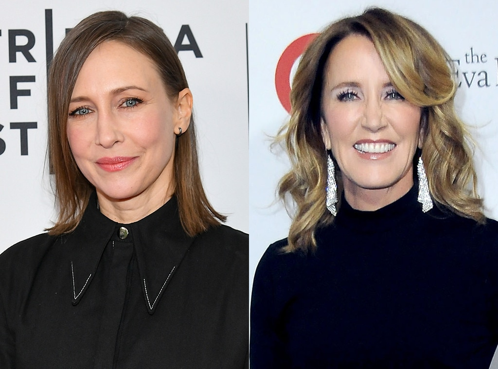 Vera Farmiga as Felicity Huffman -  Looks and acting ability collide here.