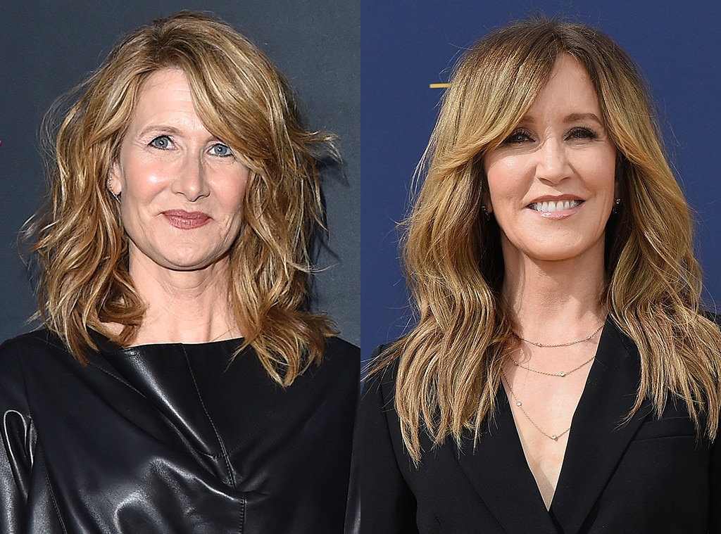 Laura Dern as Felicity Huffman -  We all know Dern could take this project and role to new heights.