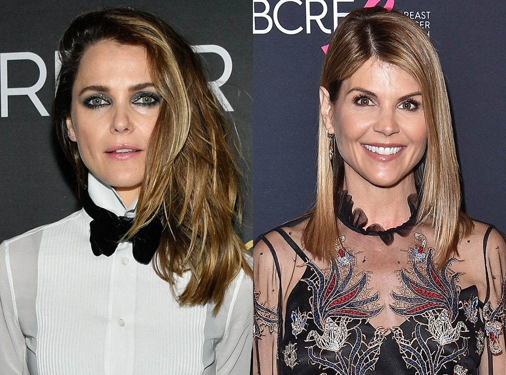 Keri Russell as Lori Loughlin -  She knows her way around wigs if needed, but really Russell sort of looks like Loughlin and has the acting ability to really make the role pop.