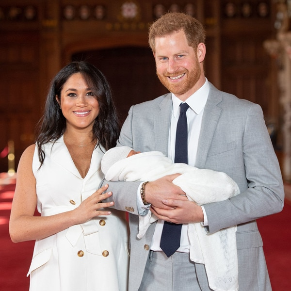 Prince Harry and Meghan mark Mother's Day with photo of son's feet