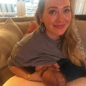 Hilary Duff, Breastfeeding