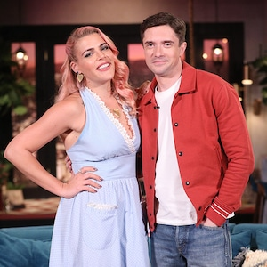 Topher Grace, Busy Philipps, Busy Tonight