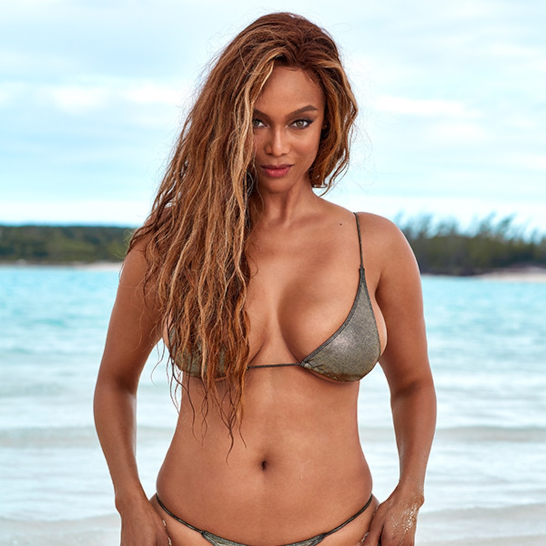 Tyra Banks Makes Modeling Comeback With Sports Illustrated Swimsuit 2019 Cover E Online Ap