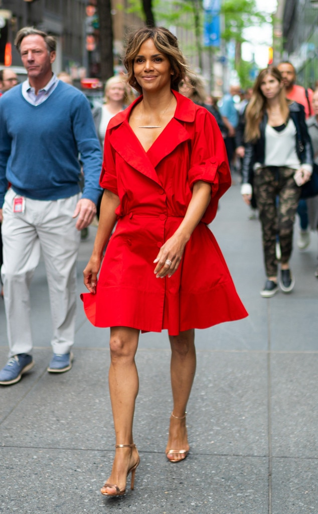 Halle Berry -  Red hot!