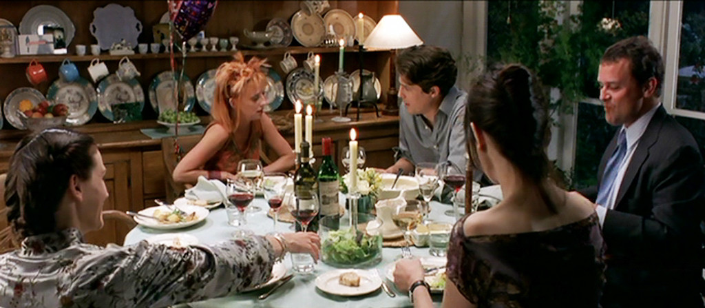 Notting Hill, Hugh Grant, Julia Roberts, Dinner Scene