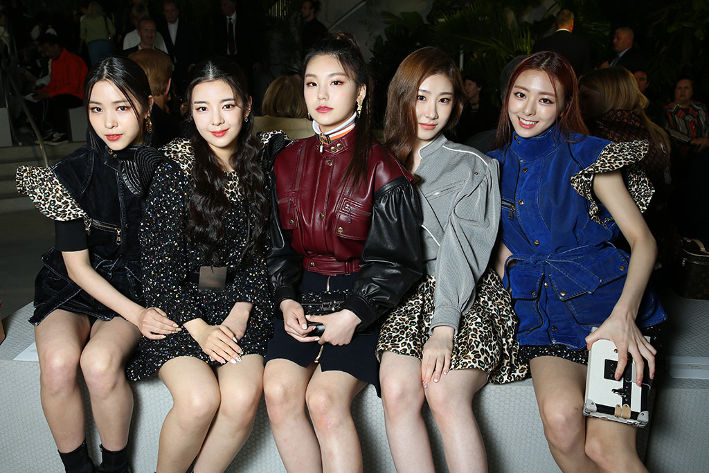 ITZY, Louis Vuitton Cruise 2020 Show