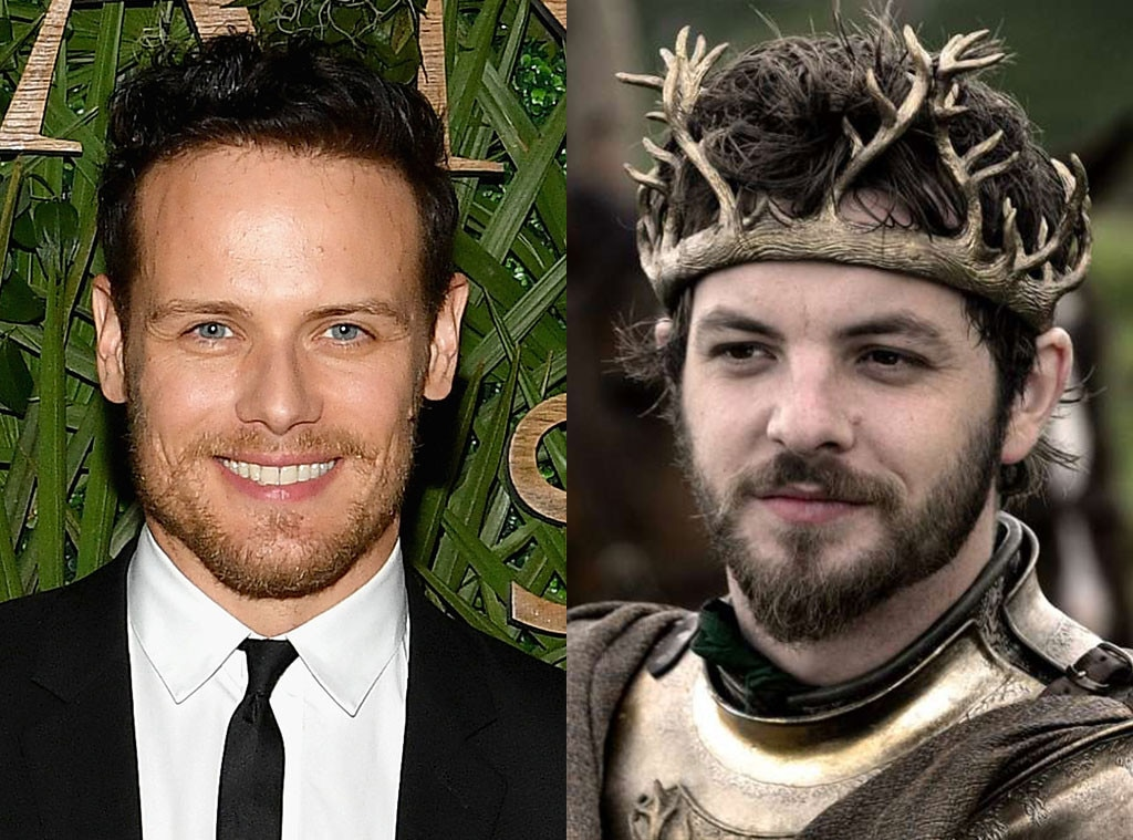 Sam Heughan from These Stars Almost Played Your Favorite Game of