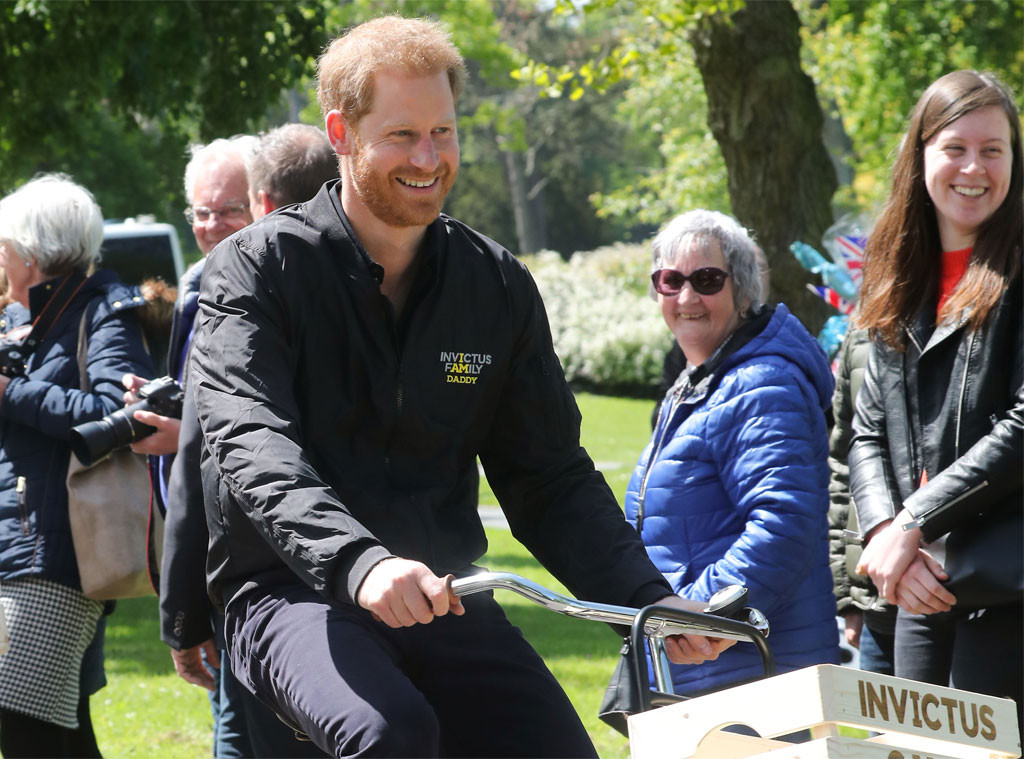 Prince Harry, Invictus Games, Netherlands Visit