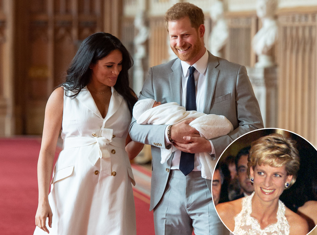 Prince Harry, Meghan Markle, Royal Baby, Archie, Princess Diana