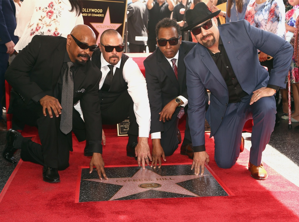 Cypress Hill -  The legendary hip hop group is honored with a star on the Hollywood Walk of Fame in April 2019.